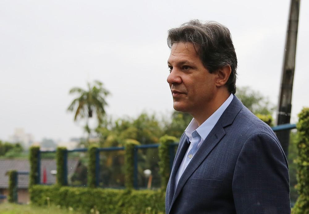 PT anuncia candidatura de Fernando Haddad no lugar de Lula
