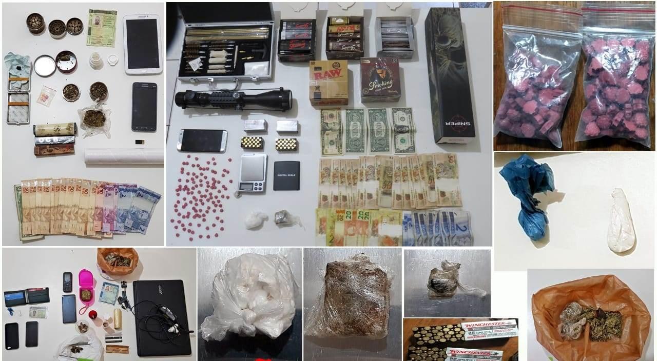 Operação Regresso prende cinco envolvidos em tráfico de drogas no Extremo Oeste