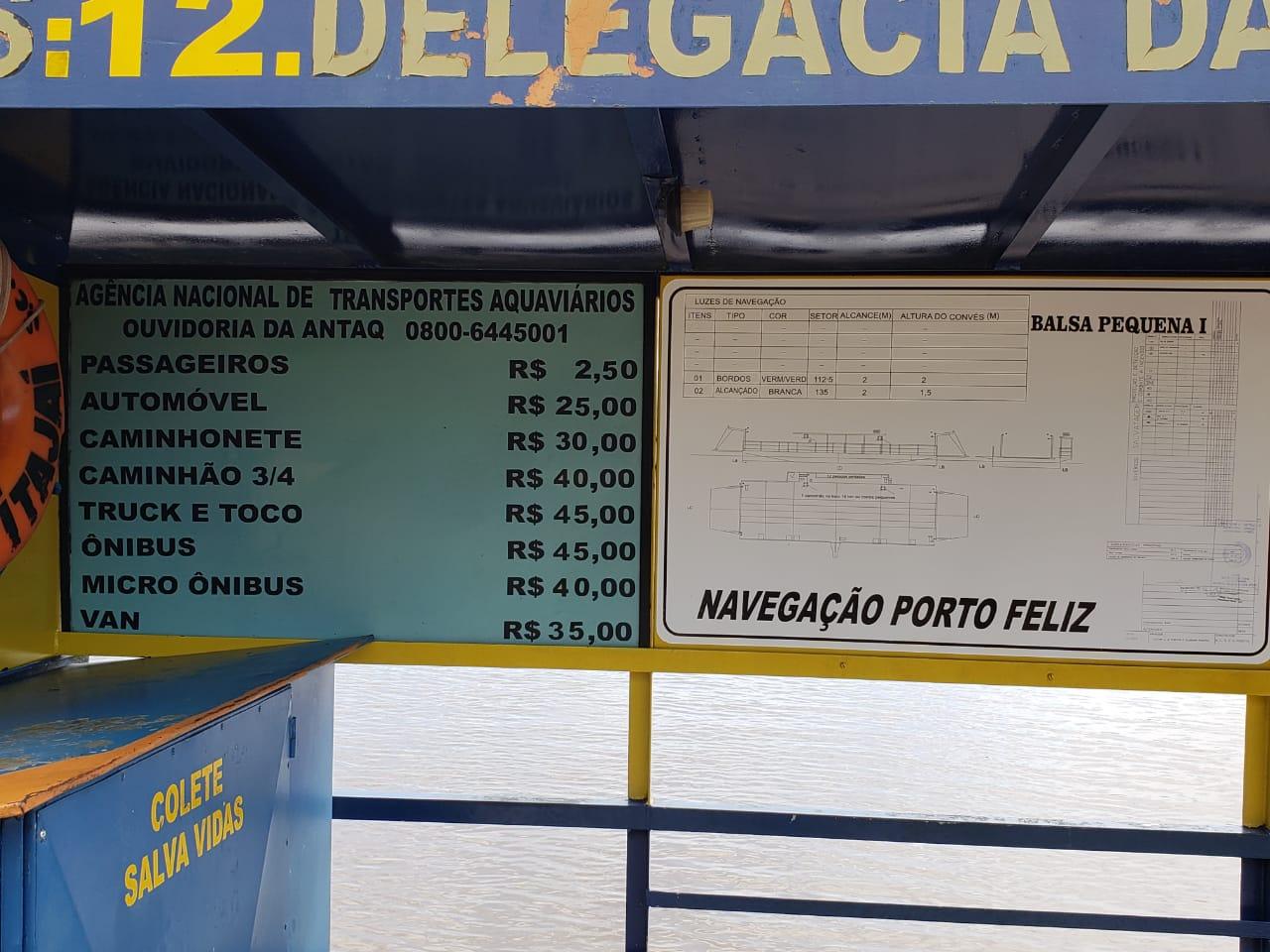 Navegação Porto Feliz de Mondaí mantém travessia sobre o Rio Uruguai há cerca de 40 anos