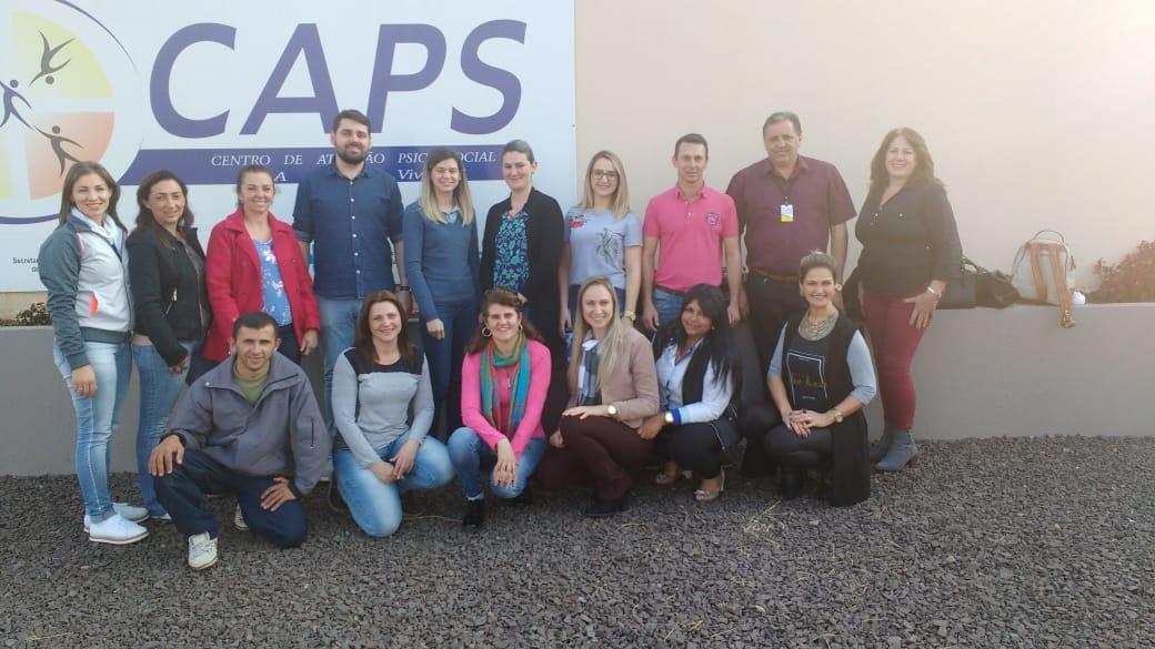 Encontro reúne representantes de Caps da região