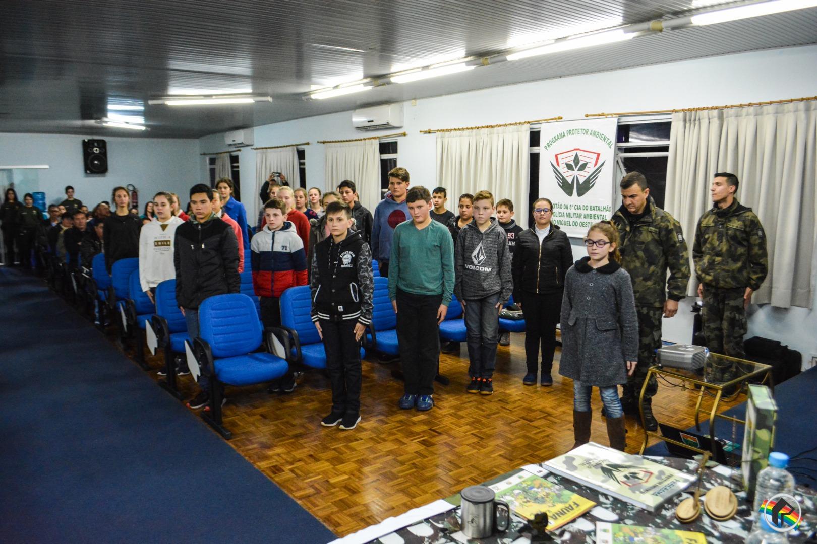 Polícia Militar Ambiental inicia Programa Protetor Ambiental no município