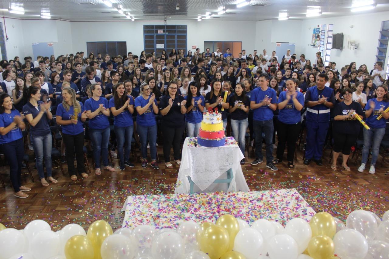 Colégio La Salle Peperi comemora 61 anos de história em SMOeste