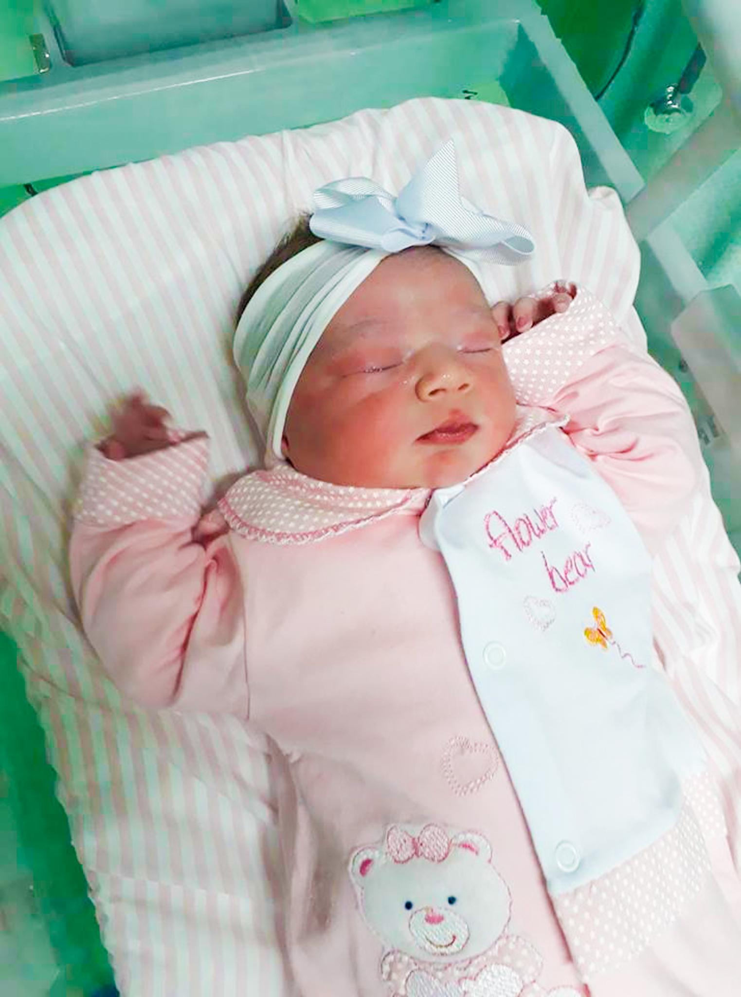 Primeiro bebê do ano de São Miguel do Oeste é menina