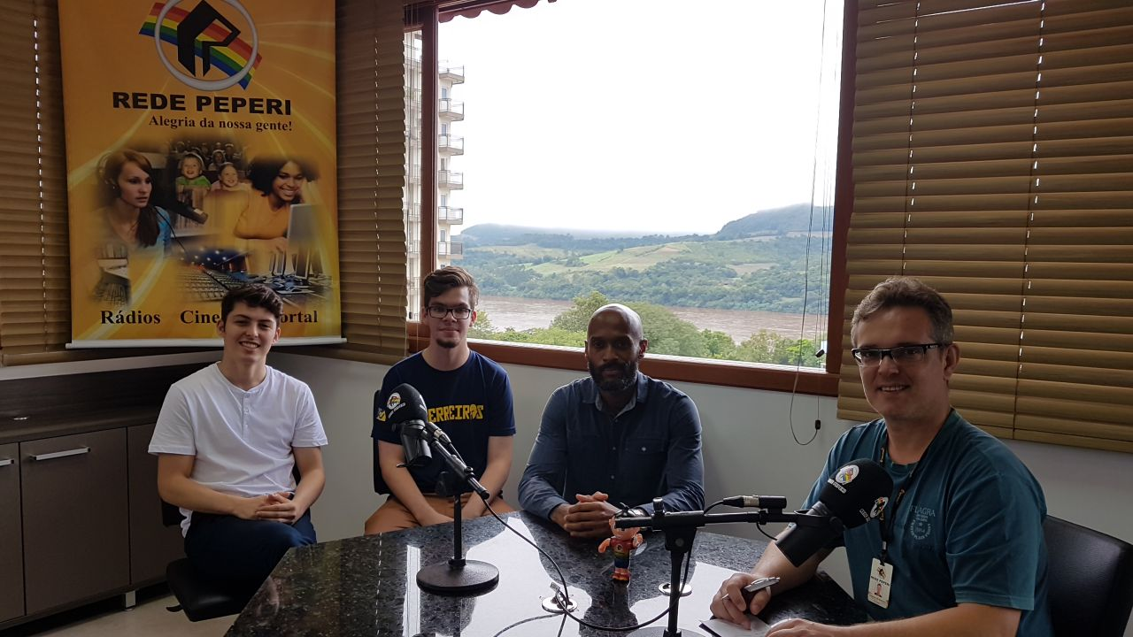Itapiranga recebe visita do jovem embaixador dos Estados Unidos no Brasil