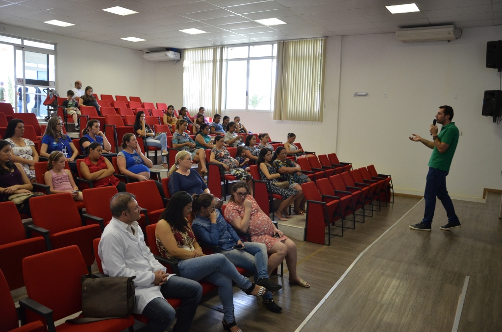 Primeiro encontro das gestantes reúne 35 participantes em Dionísio Cerqueira