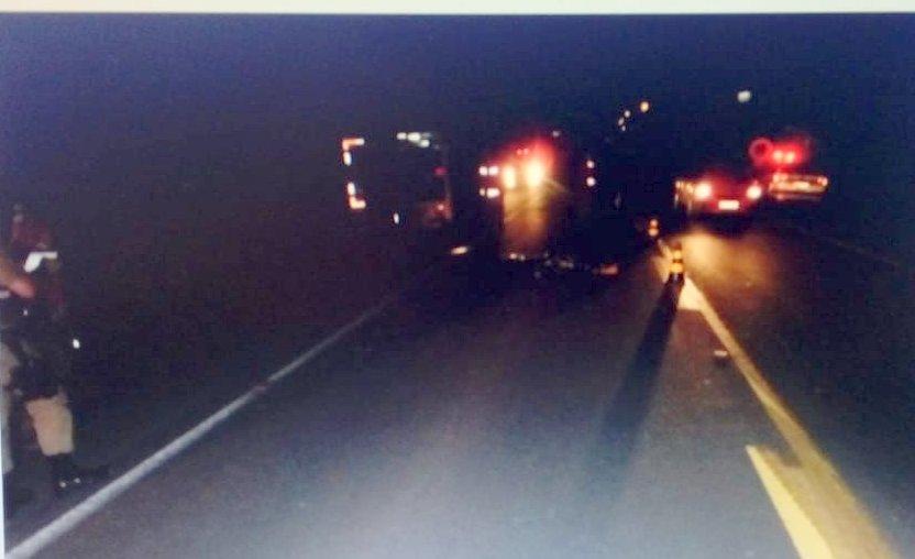 Motociclista morre ao ser atropelado na SC-283