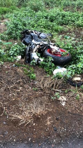 Homem morre em queda de moto na SC-135