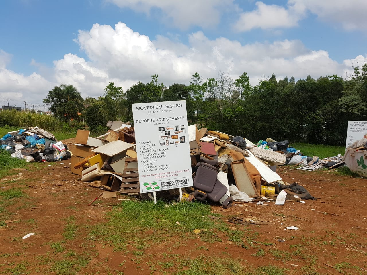 JCI e entidades recolhem mais de 12 toneladas de lixo no município
