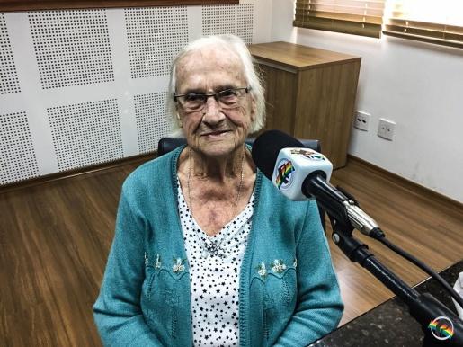 VÍDEO: Pioneira de 96 anos participa do Retrato Falado