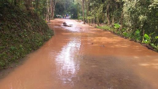 Chuvas causam transtornos em Itapiranga