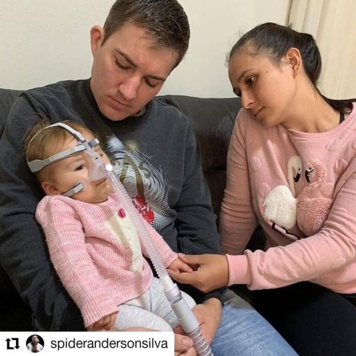 Comunidade regional se mobiliza para auxiliar no tratamento da menina Sofia Helena
