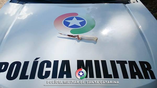 Autor de tentativa de feminicídio é preso em São Miguel do Oeste