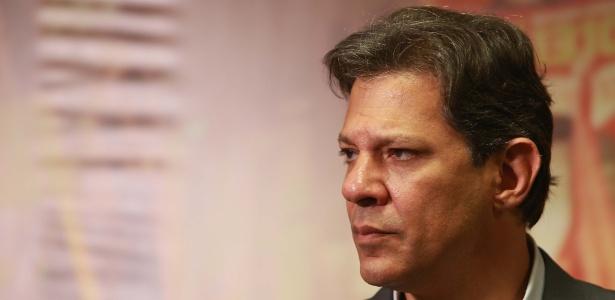 Haddad informa que se eleito taxará fortunas