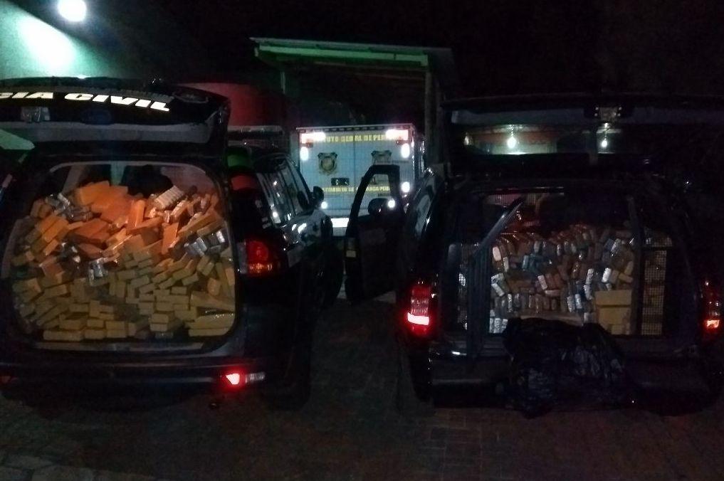 Polícia apreende meia tonelada de maconha em São Lourenço do Oeste