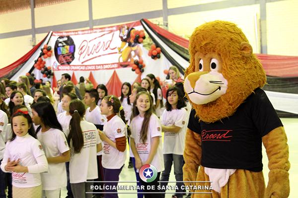 Cerca de quatro mil alunos da região foram formados pelo Proerd em 2017