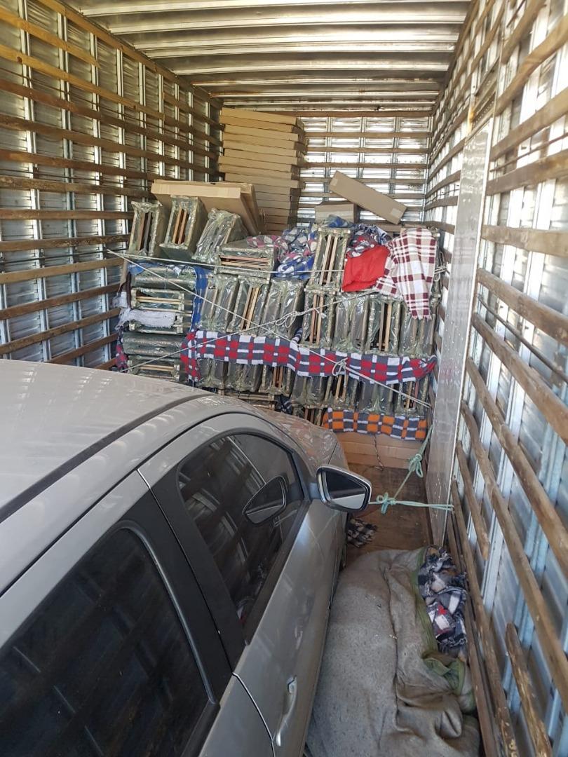 Motorista de Guarujá do Sul é preso com cerca uma tonelada de camarão contrabandeado