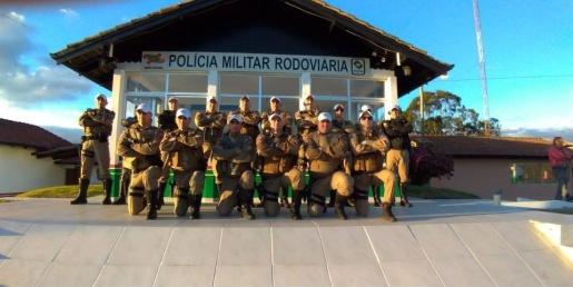 TOR de Iporã do Oeste ministra instrução sobre policiamento rodoviário na Serra Catarinense