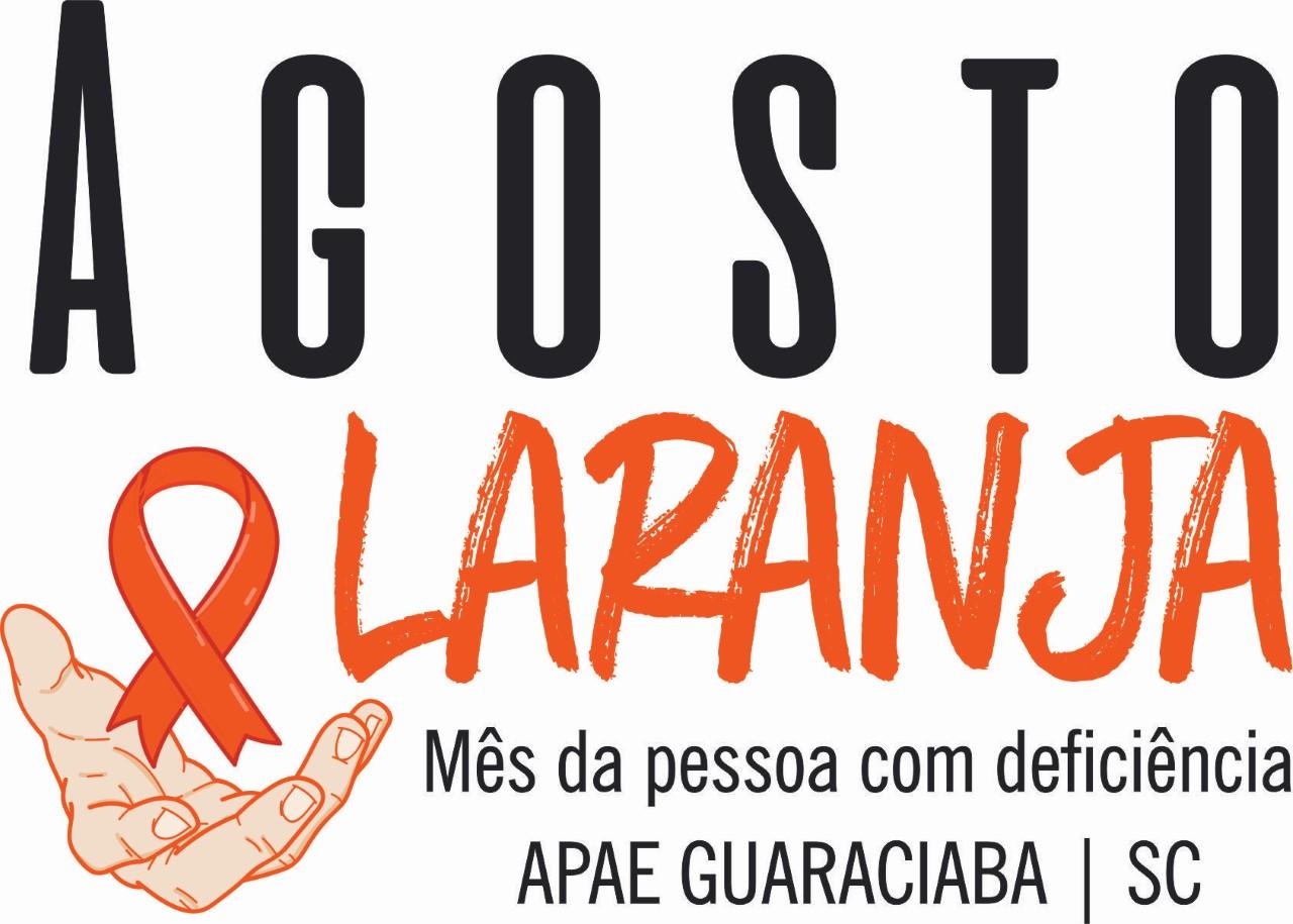 Saúde e APAE de Guaraciaba programam ações para o Agosto Laranja