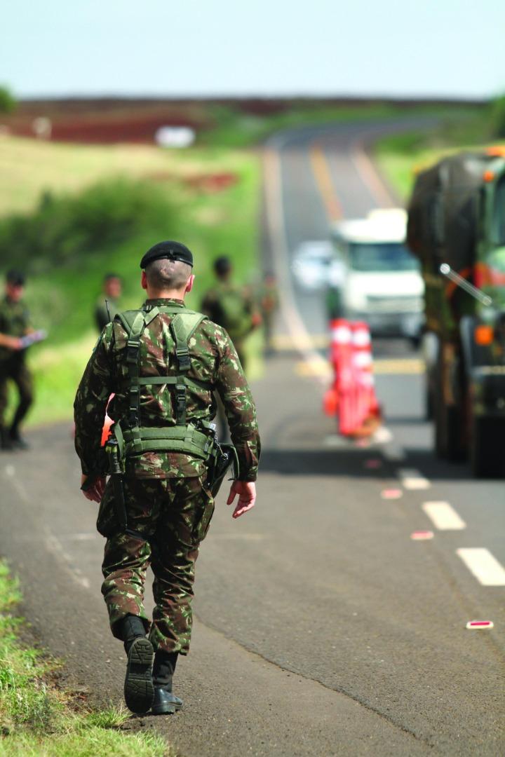 14º RCMec participa da Operação Iguaçu 2018