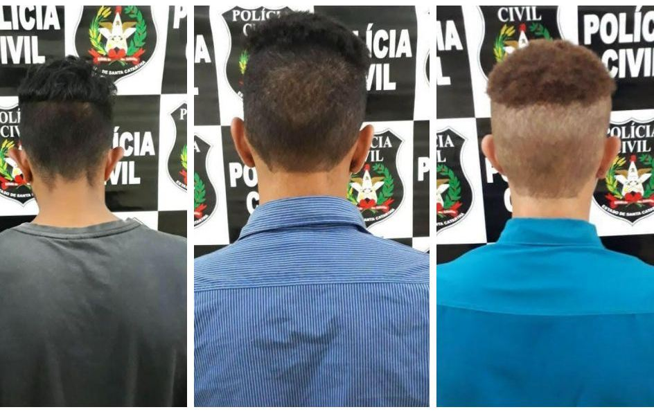 Polícia Civil prende três suspeitos de homicídio em Palma Sola