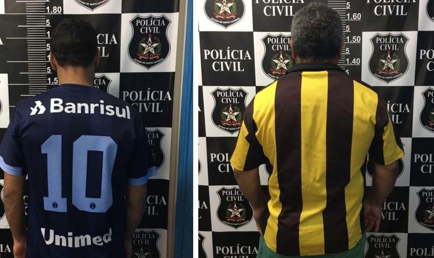 Polícia Civil de Itapiranga cumpre dois mandados de prisão