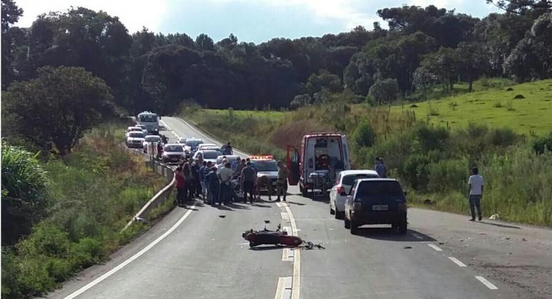 Jovem natural de Iporã do Oeste morre em acidente com moto em Treze Tílias