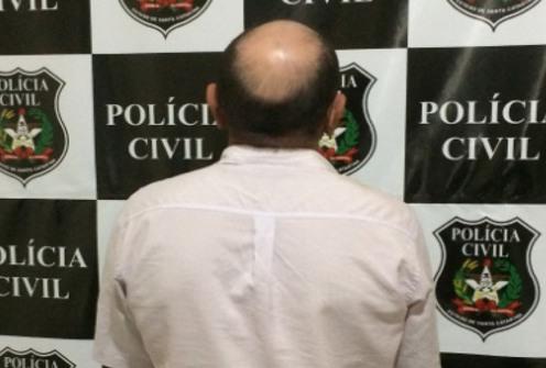 Condenado por estupro é preso pela Polícia Civil