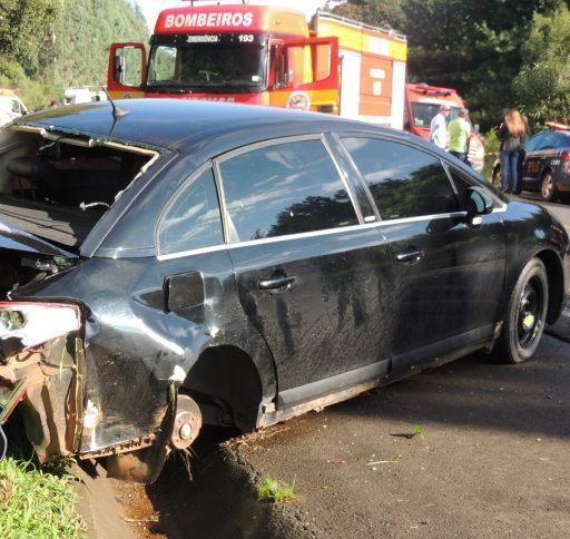 Motorista morre em acidente na BR-282