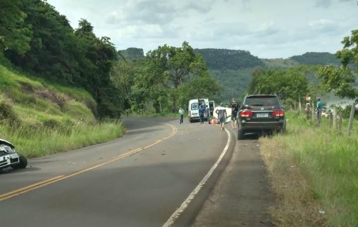 Motorista morre em colisão frontal na SC-154