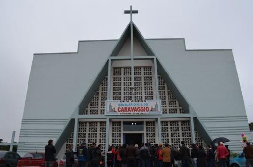 Mesmo sem festa e público, missas em honra à Nossa Senhora do Caravaggio serão realizadas