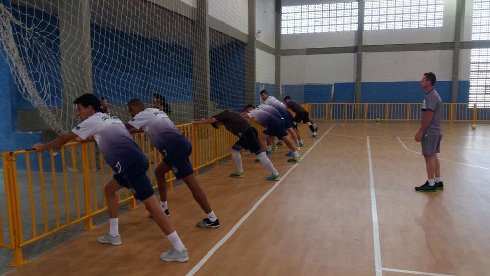 Futsal São Lourenço visita à equipe de Blumenau