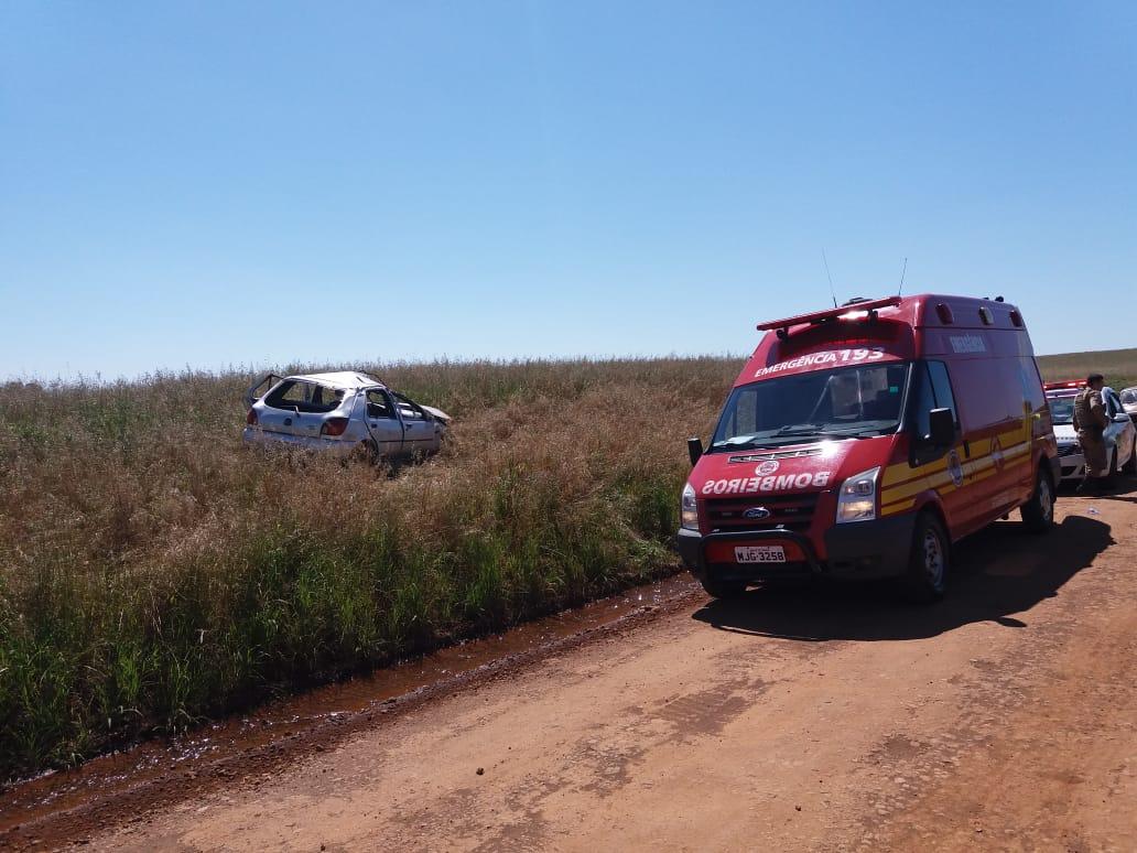 Após sofrer acidente criança anda mais de um quilometro para pedir ajuda