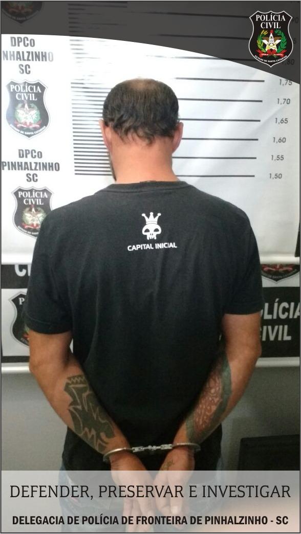 Polícia Civil prende traficante de drogas e apreende pés de maconha em Pinhalzinho