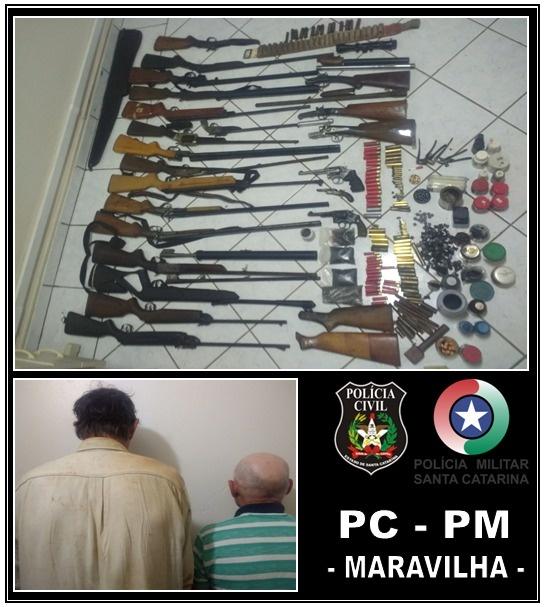 Homem que fabricava e consertava armas na região é preso com arsenal