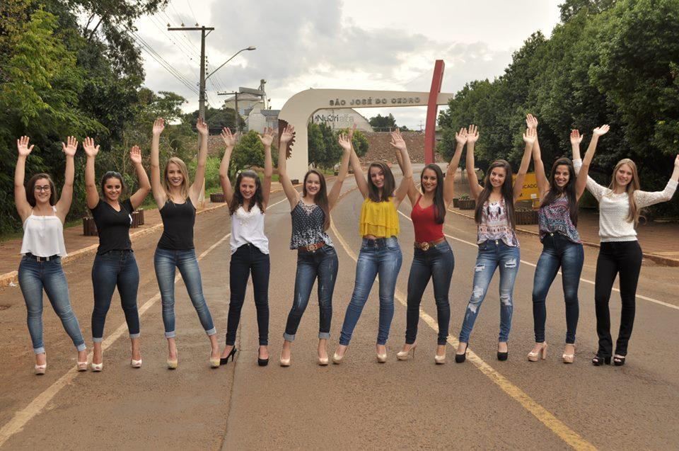 Baile de Senhorita Cedrense terá dez candidatas disputando o título