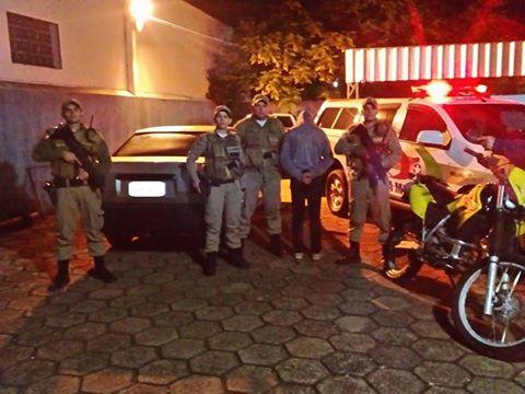 Polícia Militar da região recupera veículos furtados