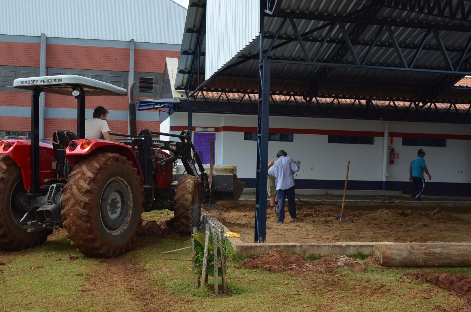 Munícipio realiza investimentos em creche do centro