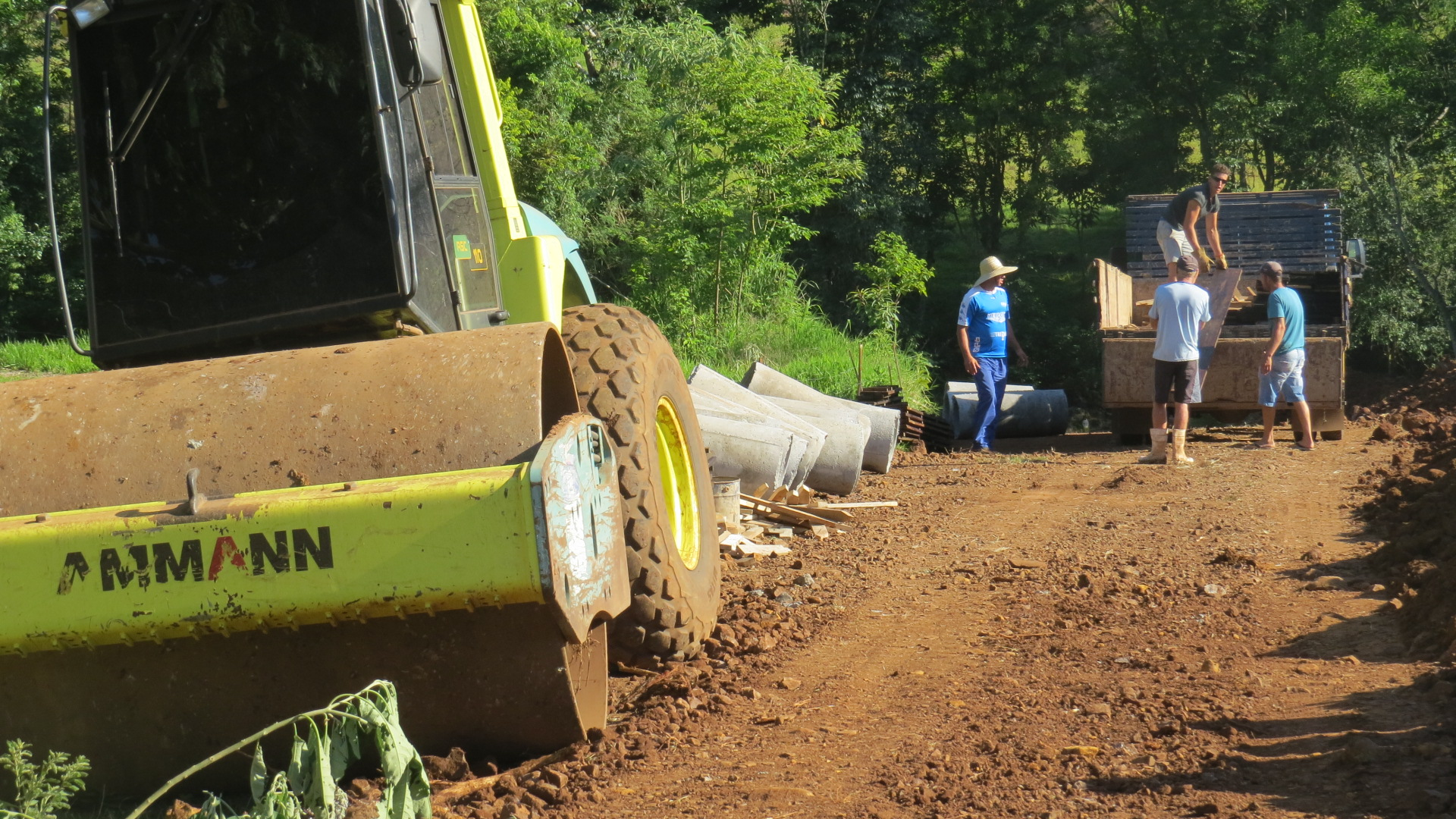 Iniciadas obras com recursos do Fundam 1 em Barra Bonita