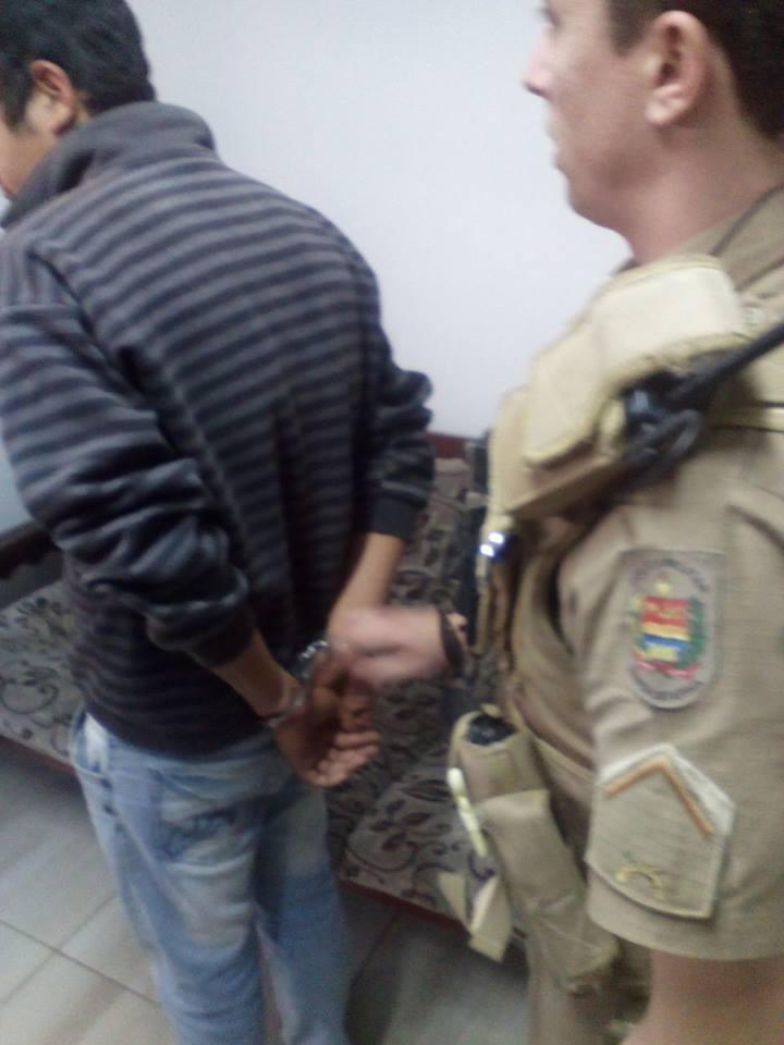 Polícia cumpre mandado de prisão