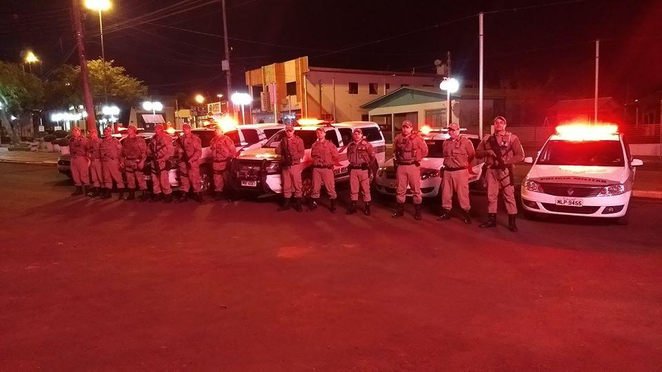 VÍDEO: Operação tem participação de policiais militares e civis