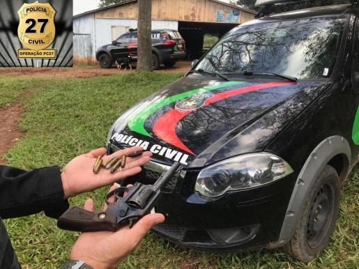 OUÇA; Polícia Civil realiza Operação PC 27 e prende 19 pessoas na região
