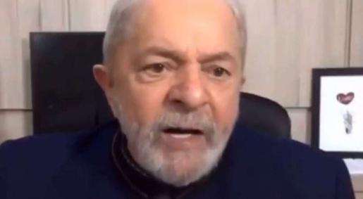 """Lula se desculpa por frase """"Ainda bem que natureza criou esse monstro chamado coronavírus"""""""