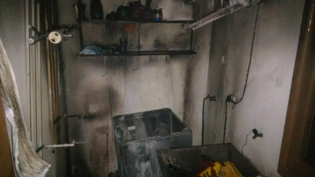 Bombeiros controlam incêndio em Itapiranga