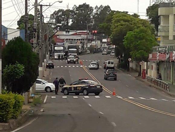 Polícia Civil e PRF monitoram possíveis rachas na Avenida Willy Barth