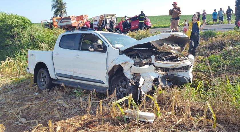 Jovem de 22 anos morre em grave acidente na PR-182