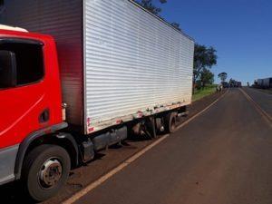 Acidente envolvendo caminhão de Guaraciaba deixa quatro feridos