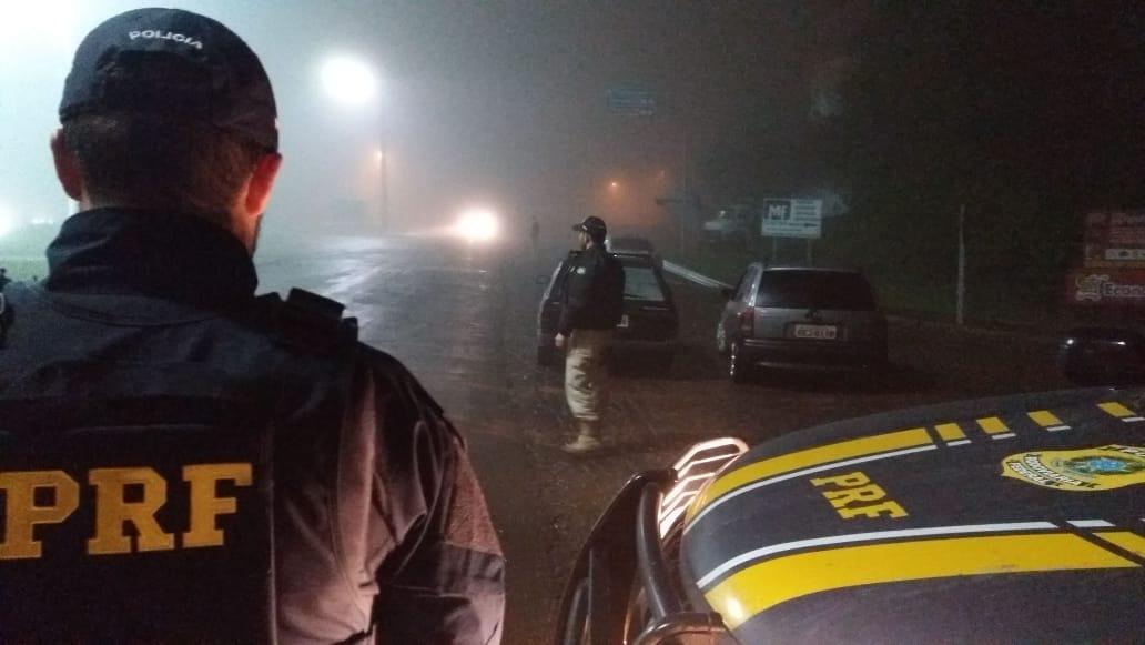 PRF registra mais de 40 infrações relacionadas a embriaguez em fiscalização em SMOeste