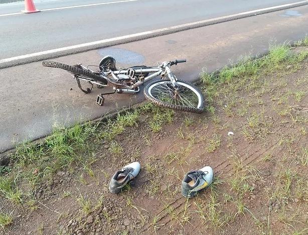 Adolescente de 15 anos morre atropelado na BR-163