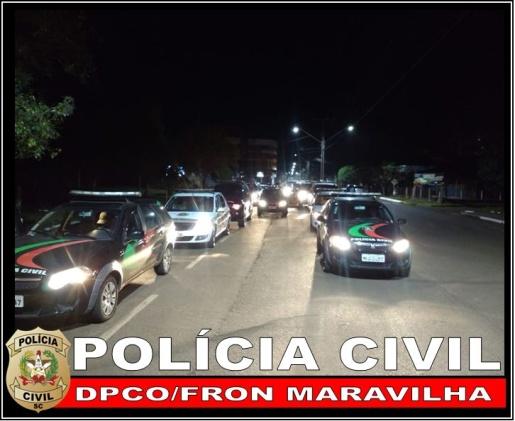 Polícia Civil realiza prisões e apreensões durante ação de repressão ao tráfico de drogas