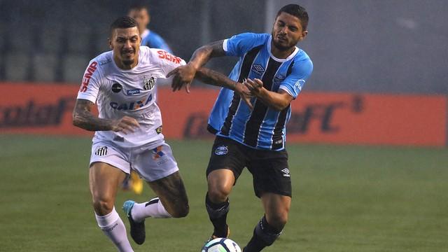 Vídeo: Jogando com time reserva, Grêmio perde para o Santos